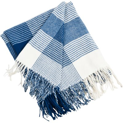 Preston Throw in Cobalt