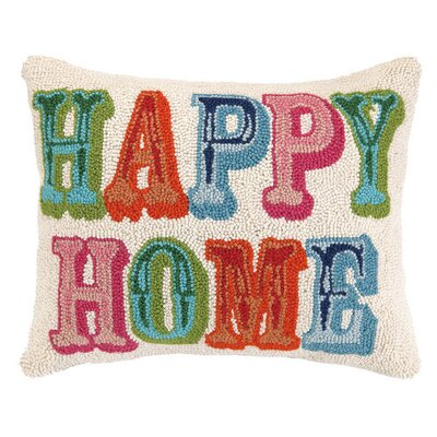 Happy Home Wool Lumbar Pillow