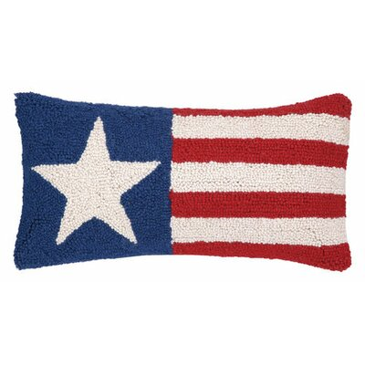 Single Star Wool Throw Pillow