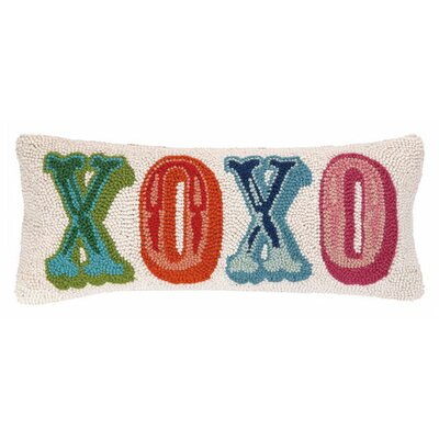 XOXO Wool Lumbar Pillow