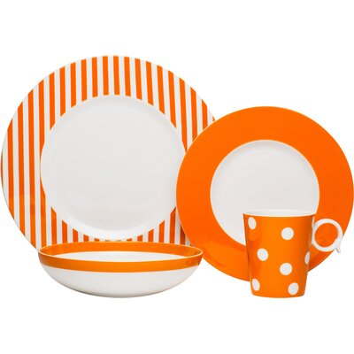 Fiona 4 Piece Place Setting Set, Service for 1 FMO20-904