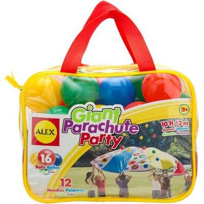 17-piece Giant Parachute Party Set