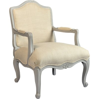 Perine Armchair Color: Natural