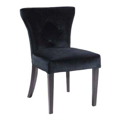Elise Parson Chair Upholstery: Black