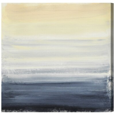 Sea Fog Canvas Print, Oliver Gal Size: 43 H x 43 W x 0.75 D