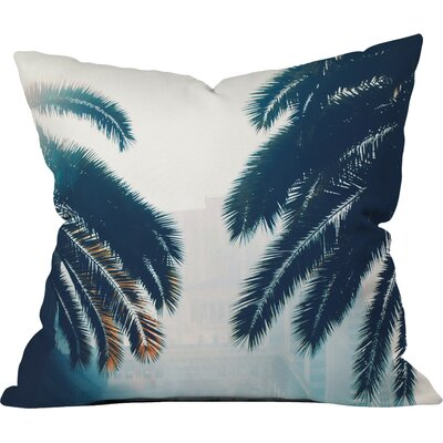 California Outdoor Throw Pillow Size: 16 H x 16 W