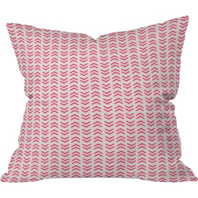 Neon Outdoor Throw Pillow Size: 18 H x 18 W