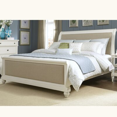 Harbor View II Upholstered Sleigh Bed Size: King