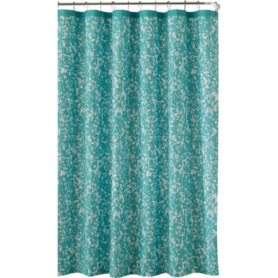 Susie Shower Curtain in Hazy Aqua by Kensie