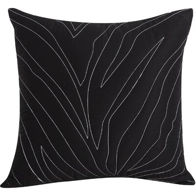 Catalina Cotton Throw Pillow Color: Gray