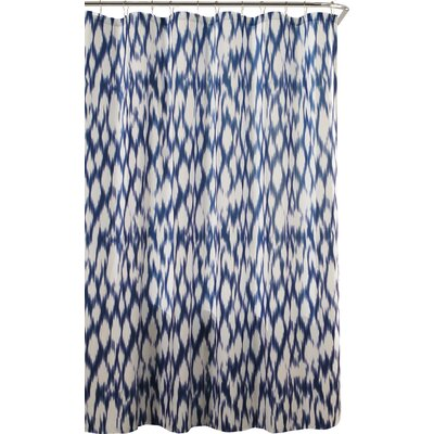Caitlin Shower Curtain Color: Blue