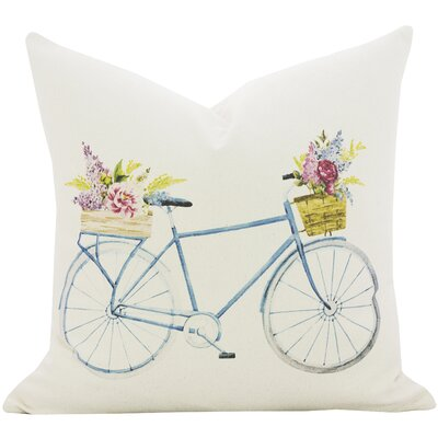 Petal Peddler Pillow Size: 16 x 16