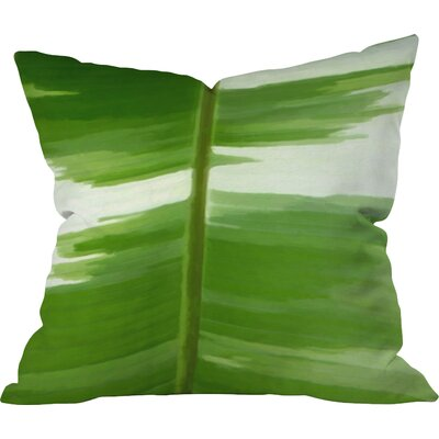 Garden Stripes Outdoor Throw Pillow