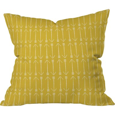 Chartreuse Arrows Pillow