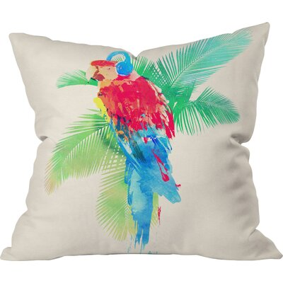 Tropical Party Throw Pillow
