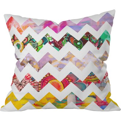 Chevron No. 1 Outdoor Throw Pillow
