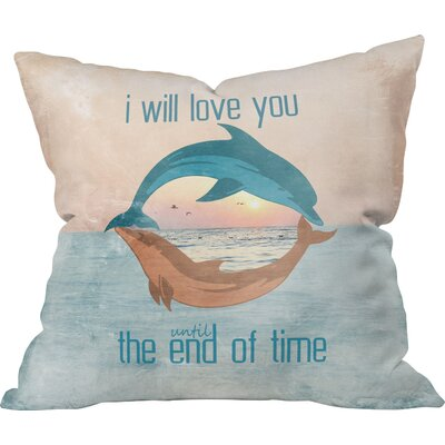 Until the End of Time Outdoor Throw Pillow