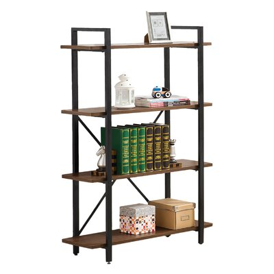 Furniture-Wildon Home Charlie 52 Etagere Bookcase