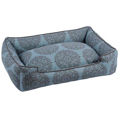 Milan Bolster Pet Bed Size: 10 H x 32 W x 39 D