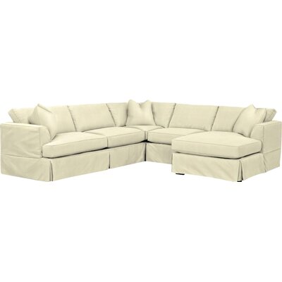 Kessler Custom Sectional Upholstery: Classic Bleach