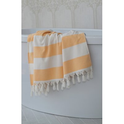 Jessa Fouta Towel Color: Melon Orange