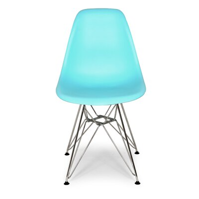 Side Chair Color: Ocean Blue