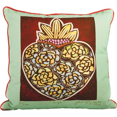 Blythe Cotton Throw Pillow