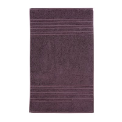 Renaissance Egyptian Quality Cotton Bath Rug Color: Fig
