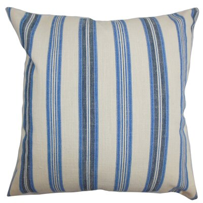 Wickham Cotton Throw Pillow Size: 18 x 18