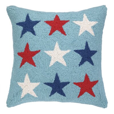 Americana Stars Throw Pillow