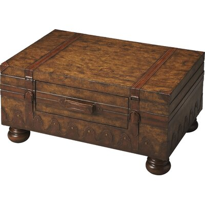 Emmett Coffee Table with Trunk