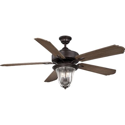 "Savoy House Trudy 52"""" 5 Blade Fan in English Bronze 52-135-5WA-13"