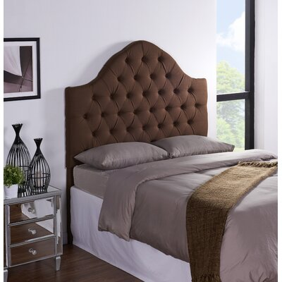 Cuthbert Upholstered Panel Headboard Size: King / California King, Upholstery: Cocoa
