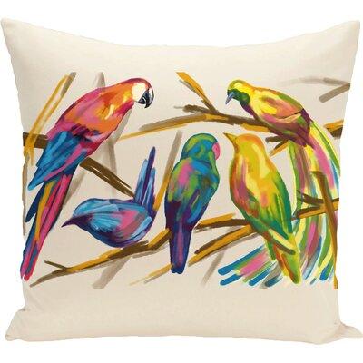 Happy Birds Throw Pillow (Set of 2)