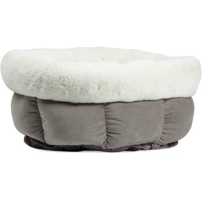 Jumbo Cuddle Cup Ilan Bolster Color: Gray