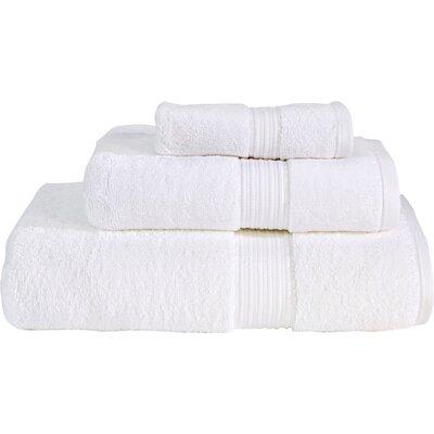 Supima Cotton 3 Piece Towel Set Color: White