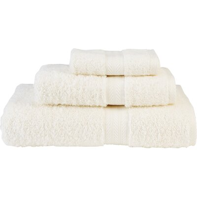 Blake Guest 3 Piece Towel Set Color: Parchment