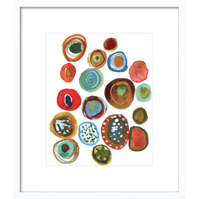 Murano Framed Giclee Print, Artfully Walls Size: 16 H x 14 W x 1.5 D