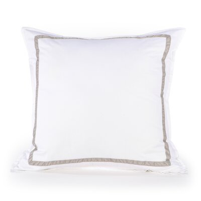 Kelly Pillow Sham in Platinum