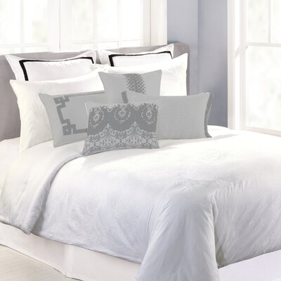 Tasha 3 Piece Duvet Cover Set Size: Queen