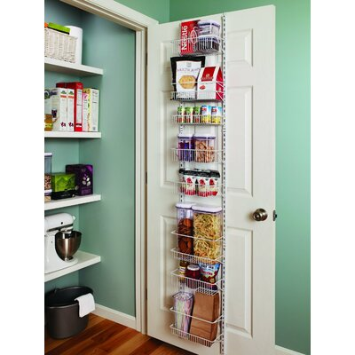 8-Tier Adjustable Cabinet Door Organizer Size: 12'' W
