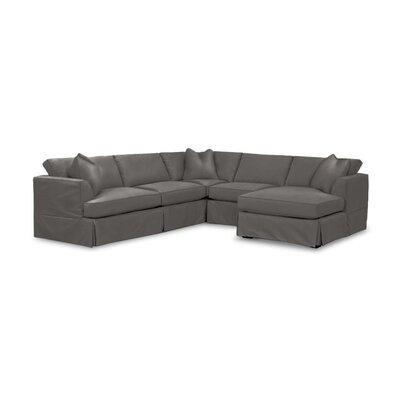 Kessler Custom Sectional Upholstery: Ranger Mink