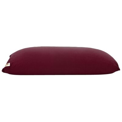 Yogibo Indoor Bean Bag Sofa Upholstery: Burgundy