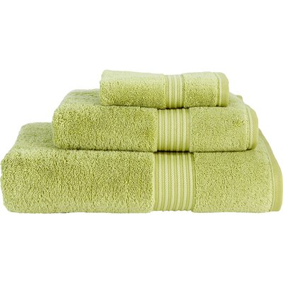 Barrett 3 Piece Towel Set Color: Green Tea