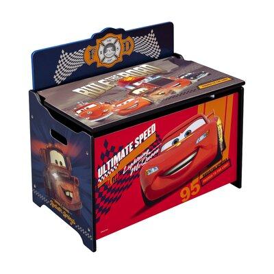 Delta Children Cars Deluxe Toy Box TB84959CR