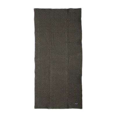 Organic Cotton Bath Towel Color: Grey
