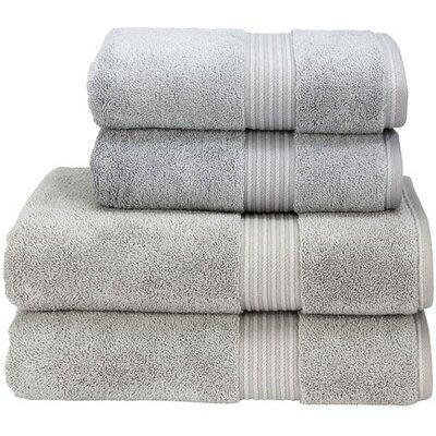Cotton 3 Piece Towel Set Color: Silver