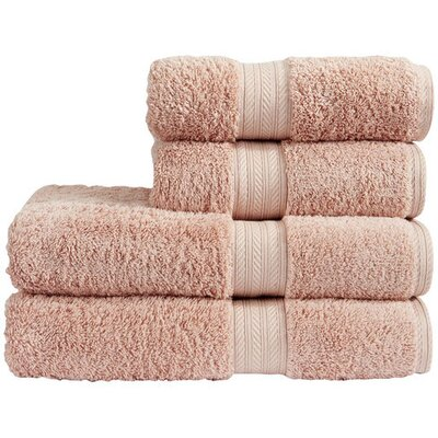 Egyptian Quality Cotton 4 Piece Towel Set