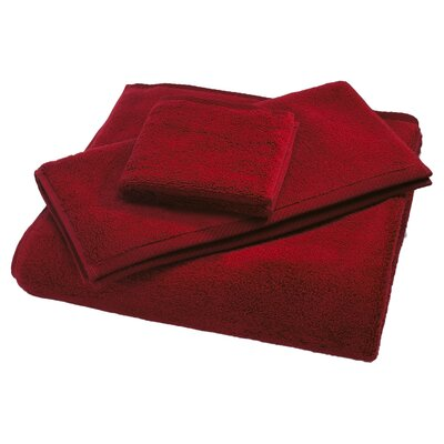Microcotton Luxury Bath Towel Color: Claret