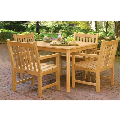 Olivia Shorea 5 Piece Dining Set